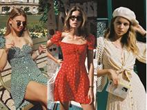 Diện đồ bình dân mà vẫn đẳng cấp, đó là vì phụ nữ Pháp luôn ưu tiên cho những item có họa tiết và chất liệu này