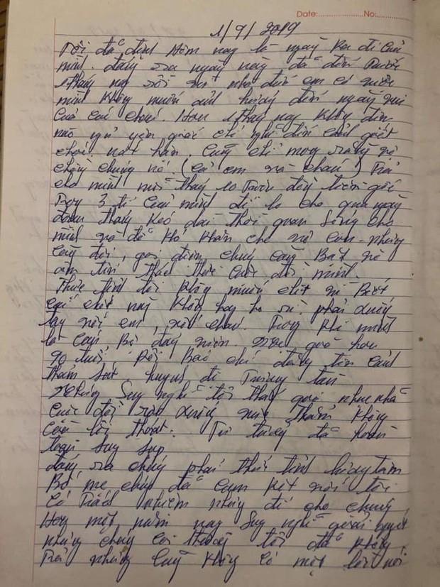 Vụ anh trai truy sát cả gia đình em gái: Công an chính thức lên tiếng về lá thư được cho là của nghi phạm lan truyền trên mạng-4