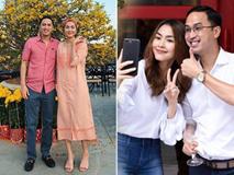 Trước tin đồn hôn nhân rạn nứt, Tăng Thanh Hà và chồng luôn ăn mặc tinh tế và đồng điệu