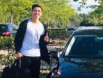 Văn Hậu và các tuyển thủ Việt Nam lái xe gì ở nước ngoài