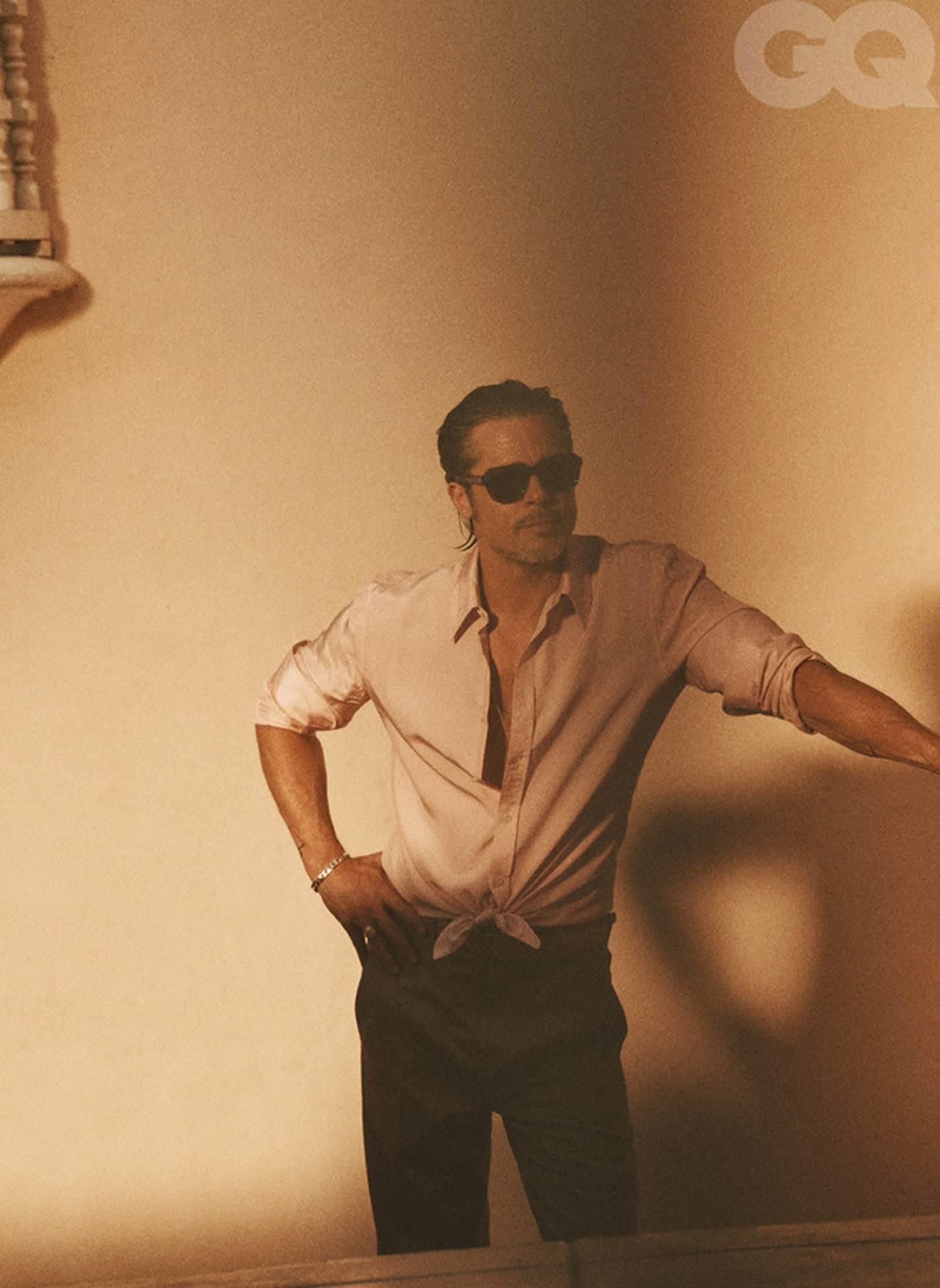Vẻ phong trần của tài tử Brad Pitt ở tuổi 56-10