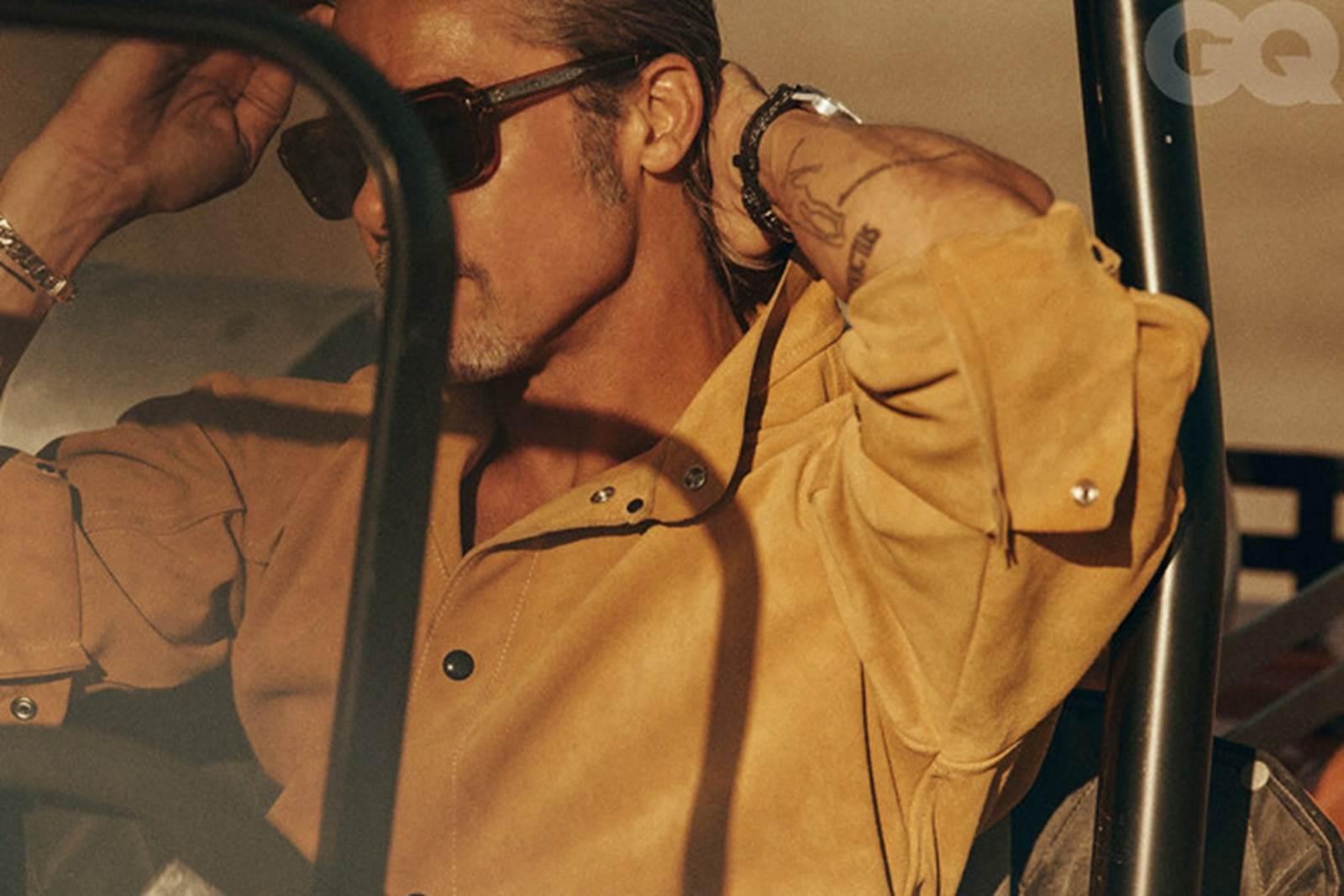 Vẻ phong trần của tài tử Brad Pitt ở tuổi 56-6