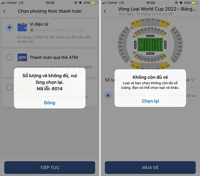 Cháy vé đợt 1 trận ĐT Việt Nam - Malaysia chỉ sau…3 phút-2