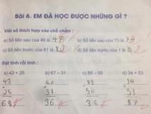 Bất ngờ vì thầy giáo gạch kết quả đúng của học sinh, cha mẹ đồng loạt phản ứng