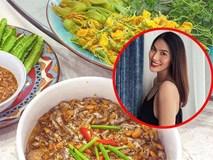 Khoe ảnh bên chồng đại gia, bà bầu Lan Khuê đính chính hiểu lầm chuyển nghề... blogger ẩm thực