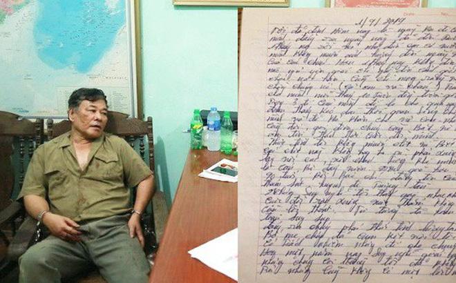 Nghi phạm truy sát gia đình em gái viết thư gửi vợ nói cuộc sống quá cơ cực, sống nhục nên thà chết trước-1