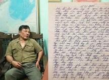 Nghi phạm truy sát gia đình em gái viết thư gửi vợ nói