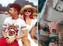 Đưa vợ đi du lịch sau lùm xùm mượn ảnh, Minh Nhựa khẳng định độ giàu với đồng hồ triệu đô và túi xách bạch tạng không thánh photoshop nào ghép được