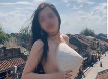 Đại diện quán cà phê nơi cô gái bán khỏa thân quay clip phản cảm ở Hội An nói gì?