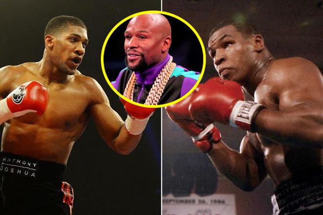 """Mayweather xưng thần bị Tyson chốt câu cứng họng"""": Joshua phục đến già-1"""