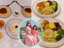 Nhà nữ MC VTV đảm cả mẹ cả con, bữa cơm