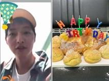 Đón sinh nhật đầu tiên hậu ly hôn, Song Joong Ki vừa khóc vừa lộ clip trông hốc hác đáng báo động