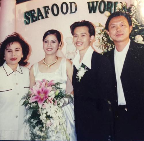 Ảnh cưới hiếm của nghệ sĩ Hoài Linh, Thu Minh và các sao Việt-3