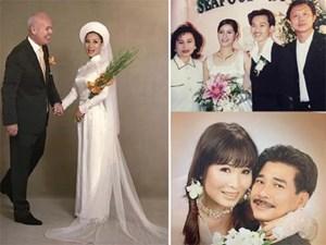 Ảnh cưới hiếm của nghệ sĩ Hoài Linh, Thu Minh và các sao Việt