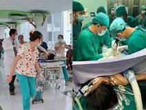 Bé gái 11 tuổi bị container tông, hơn 20 bác sĩ khẩn trương chiến đấu với