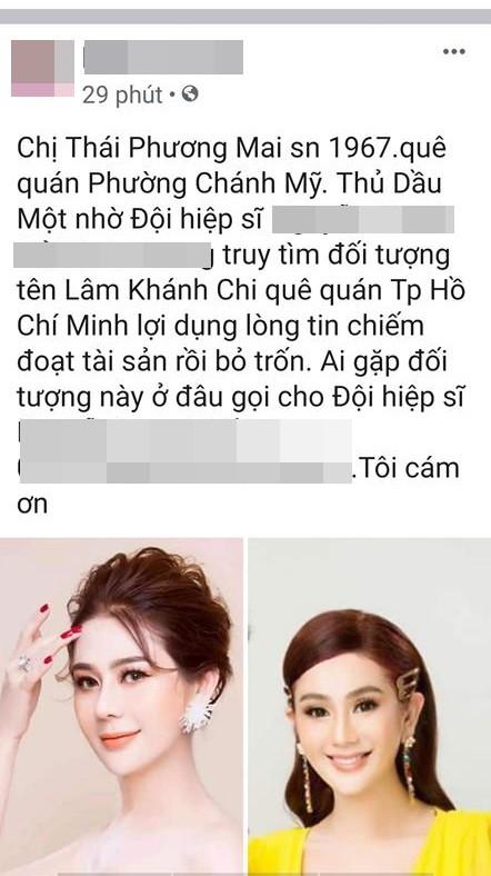 HOT: Lâm Khánh Chi bị truy lùng trên mạng xã hội vì lừa đảo chiếm đoạt tài sản?-1