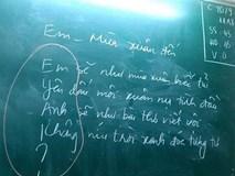 Phì cười trước cách cô giáo chỉ học trò cưa đổ crush bằng thơ, đảm bảo đổ liền trong 5s