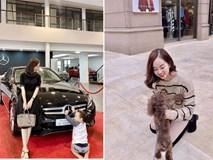 Hot mom Ly Kute: Từ cô gái ôm bụng bầu lên chùa tĩnh tâm vì bạn trai bỏ đến bà mẹ đơn thân chăm chỉ kiếm tiền, cho con học hẳn trường quốc tế