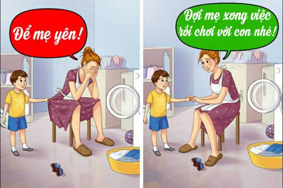 12 câu mà cha mẹ tuyệt đối đừng bao giờ nói với con cái, nếu không muốn chúng tổn thương tâm lý nặng nề-3