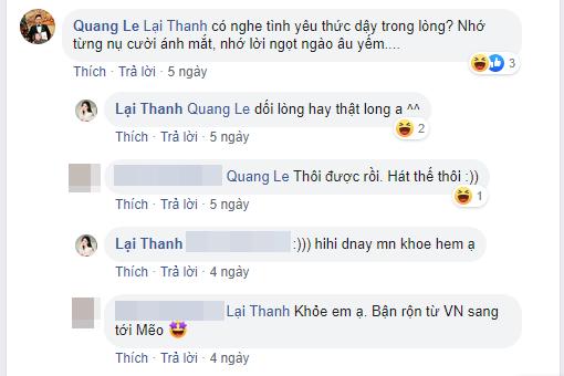 Quang Lê bất ngờ bày tỏ tình cảm với người yêu cũ, phản ứng của Thanh Bi lại gây tò mò-2