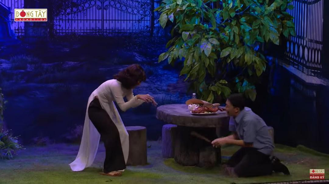 Ơn giời cậu đây rồi: Bị Minh Hằng cho ăn tát, Trấn Thành thốt lên tay thối lắm nha-16