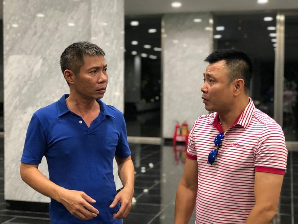 Ca sĩ Minh Quân xuất hiện với gương mặt khác lạ trong clip hậu trường Táo quân-3