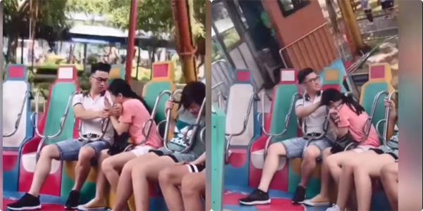 Anh bạn trai gây sốt MXH chỉ vì những cử chỉ này dành cho bạn gái nhưng xem kĩ hơn lại thấy lạ lắm à nghen-1