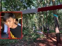 Nóng: Bắt giữ hung thủ nghi sát hại, hiếp dâm thiếu nữ 16 tuổi ở rừng cao su