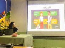 Buổi họp phụ huynh sáng tạo ở trường THPT Hồng Hà
