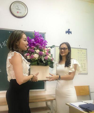 Buổi họp phụ huynh sáng tạo ở trường THPT Hồng Hà-4