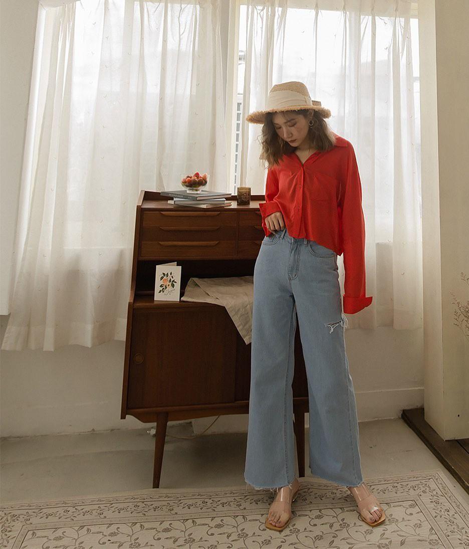Đã tìm ra kiểu quần jeans vô địch về khoản hack tuổi, nhưng vẫn thanh lịch chẳng kém quần jeans trắng-7