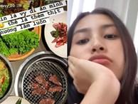 Làm gì có hoa hậu nào như Trần Tiểu Vy: cuồng ăn đến mức đi ăn thịt nướng một mình, bạn bè còn phải 'tránh xa' vì suốt ngày đăng ảnh đồ ăn