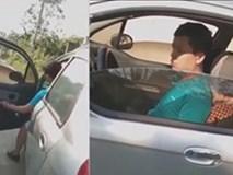 Tông ngã hai mẹ con, nam tài xế còn dọa đánh và bỏ đi vì 'trễ giờ làm'