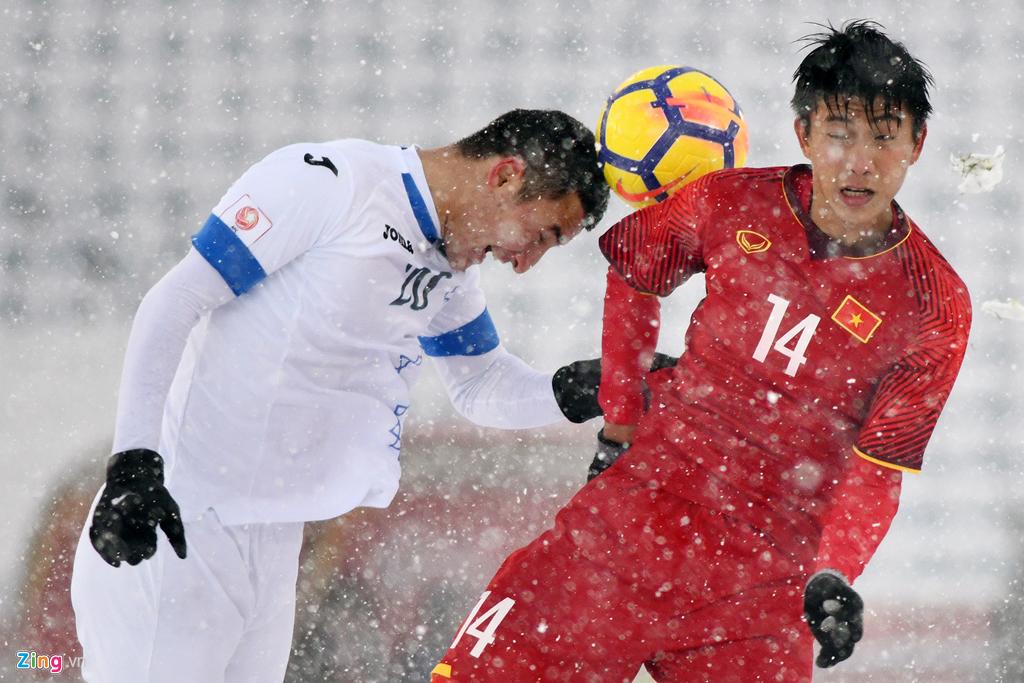 Nhìn lại trận chiến trên tuyết lịch sử của bóng đá Việt Nam-7