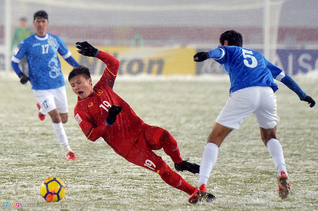 Nhìn lại trận chiến trên tuyết lịch sử của bóng đá Việt Nam-9