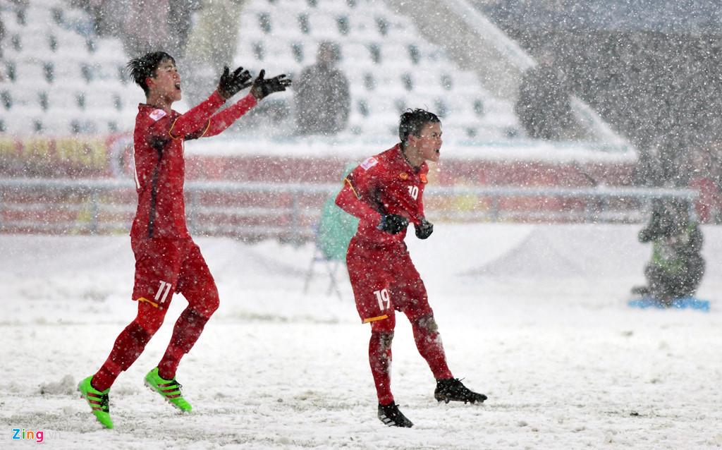 Nhìn lại trận chiến trên tuyết lịch sử của bóng đá Việt Nam-10