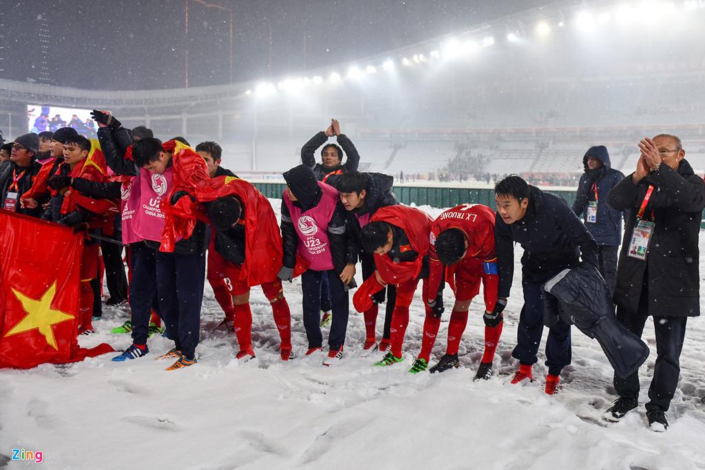 Nhìn lại trận chiến trên tuyết lịch sử của bóng đá Việt Nam-16