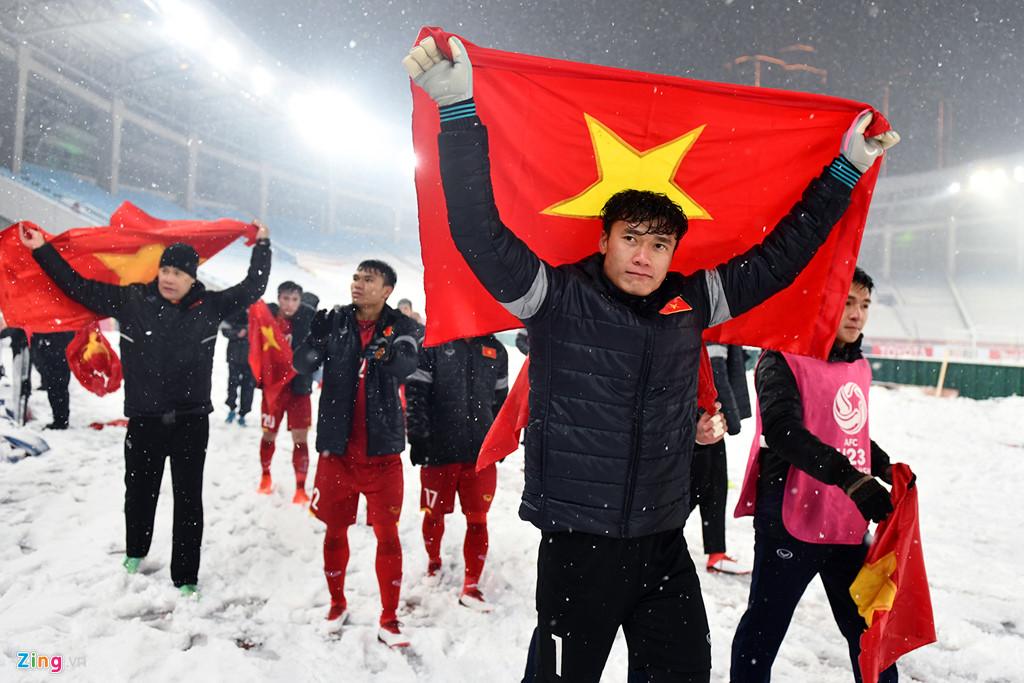 Nhìn lại trận chiến trên tuyết lịch sử của bóng đá Việt Nam-17