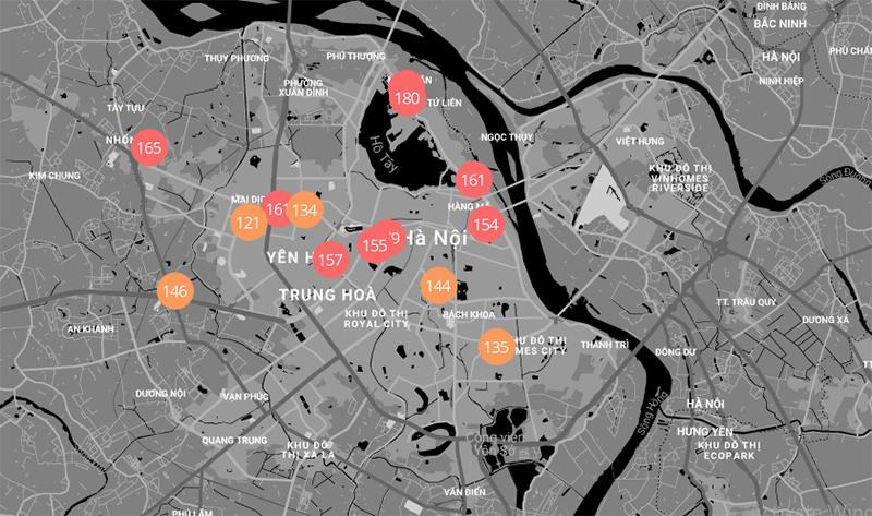 Bác thông tin Hà Nội là thành phố ô nhiễm nhất thế giới-1