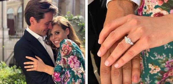 Công chúa Anh đính hôn với triệu phú bất động sản, công bố ảnh chính thức, nghi đạo phong cách của Meghan Markle-1