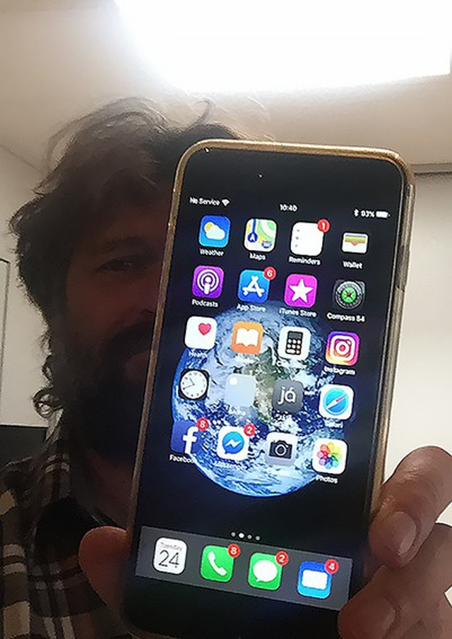 iPhone 6S rơi từ máy bay vẫn hoạt động bình thường sau 13 tháng thất lạc-2