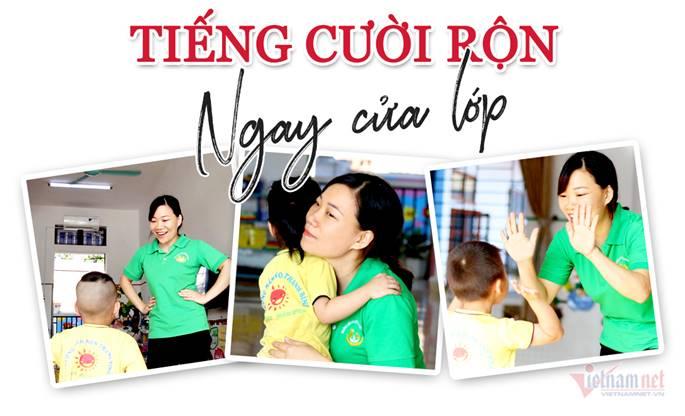 Những màn chào hỏi yêu thương của cô trò ở các trường học-1