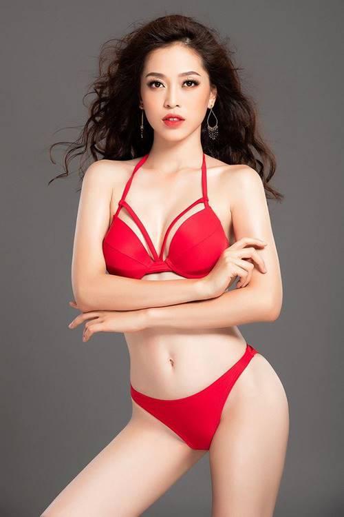 Đã không khoe thì thôi, chứ Á hậu Phương Nga đã diện bikini thì chắc chắn đốt mắt-3
