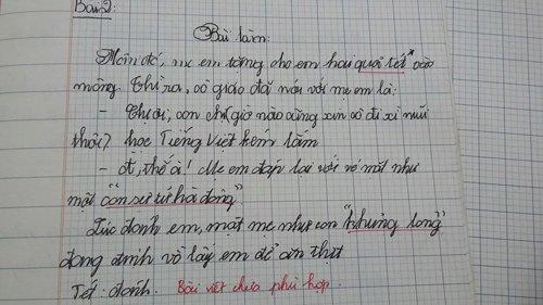 4 bài văn tả mẹ gây bão: Thầy giáo chấm 10 điểm, bật khóc ngay khi đọc dòng đầu tiên-2