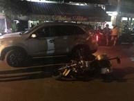 TP. HCM: Tài xế ô tô bỏ chạy, tông ngã xe CSGT khi bị yêu cầu dừng kiểm tra nồng độ cồn