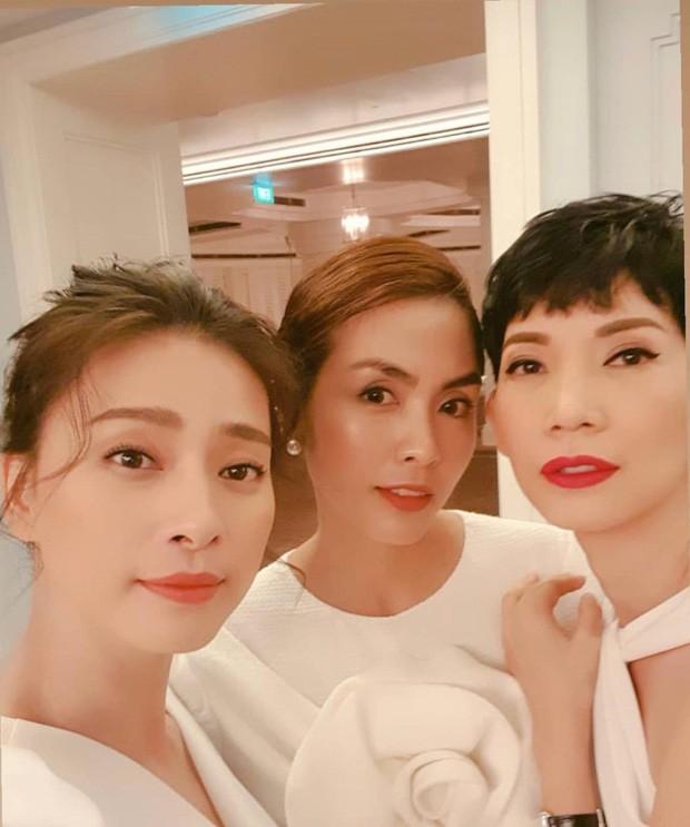 Ngọc nữ Tăng Thanh Hà và đả nữ Ngô Thanh Vân hội ngộ dàn mỹ nhân Vbiz, nhan sắc nhìn vào đã thấy sướng mắt-2