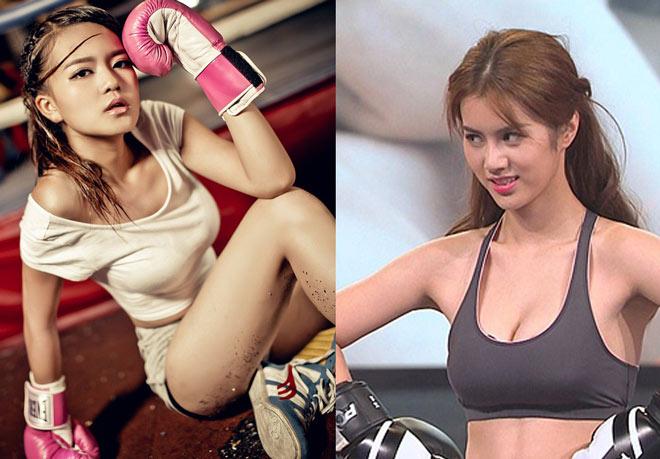 2 nữ thần boxing đẹp như tiên giáng trần, rụng rời đấng nam nhi-2