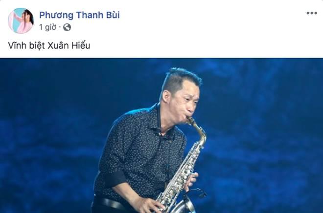 Hà Hồ, Duy Mạnh và loạt sau Vbiz xót thương khi nghệ sĩ saxophone Xuân Hiếu qua đời vì ung thư-1