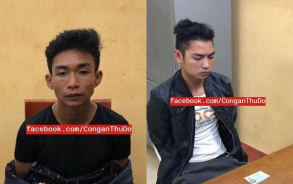 Trước khi bị bắt, 2 nghi phạm sát hại nam sinh 18 tuổi ở Hà Nội vẫn dùng xe cướp được để đi chơi-1