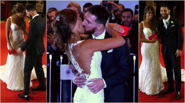 Messi khiến các cổ động viên ngưỡng mộ vì gia đình hạnh phúc-2